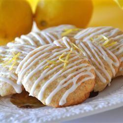 Honing-citroen koekjes @ allrecipes.nl