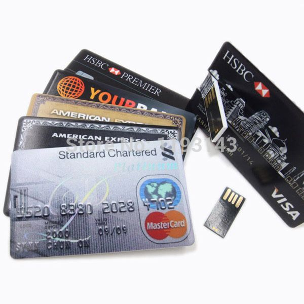 credit card usb how to use