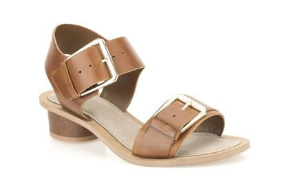 Womens Casual Sandals - Sandcastle Art in Tan Leather from Clarks shoes