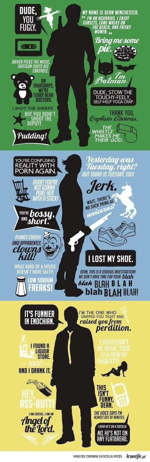 Character quotes - Supernatural