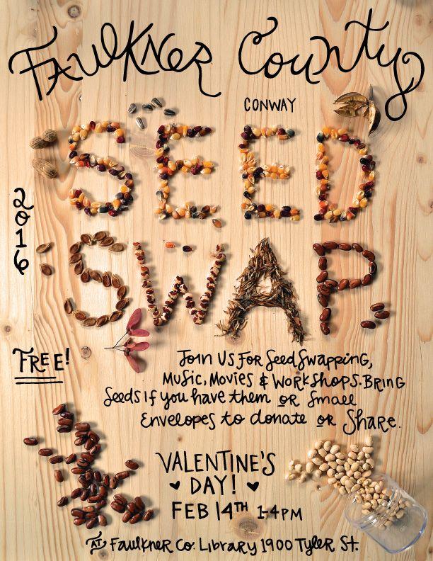 ChewOnIt 2016 Seed Swap Seeds, Sustainable food, Food