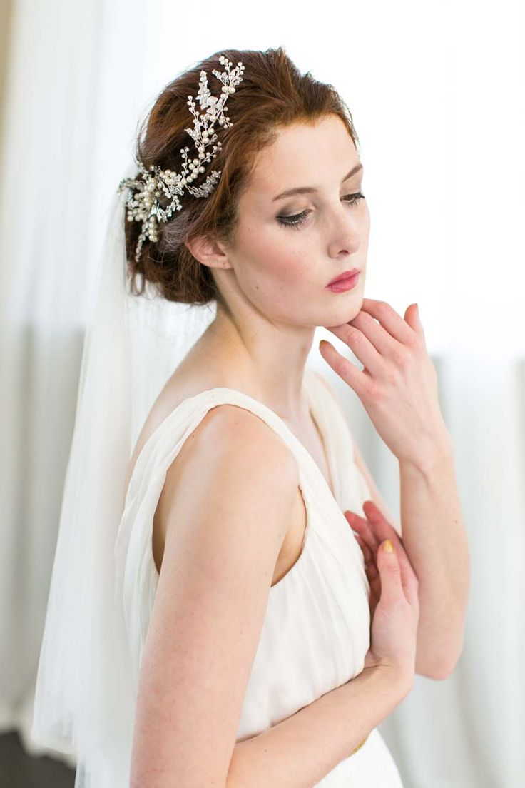 Today's beautiful post comes from Want That Wedding sponsor - creative and talented headpiece designer Victoria Millésime; an extraordinarily talented designer who creates the most beautiful and ethereal bridal adornments.