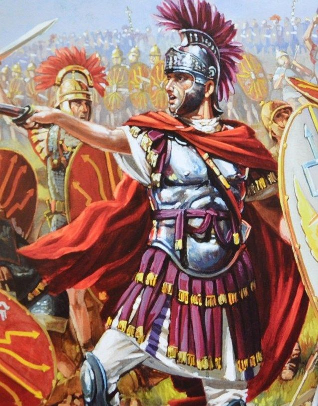 Julius Caesar In Battle Battle of alesi...