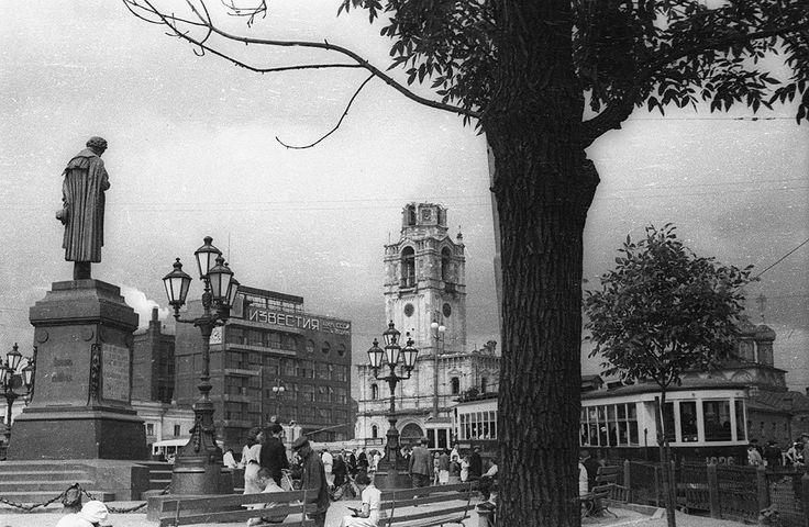 Пушкинская площадь,1937 / Moscow, Russia