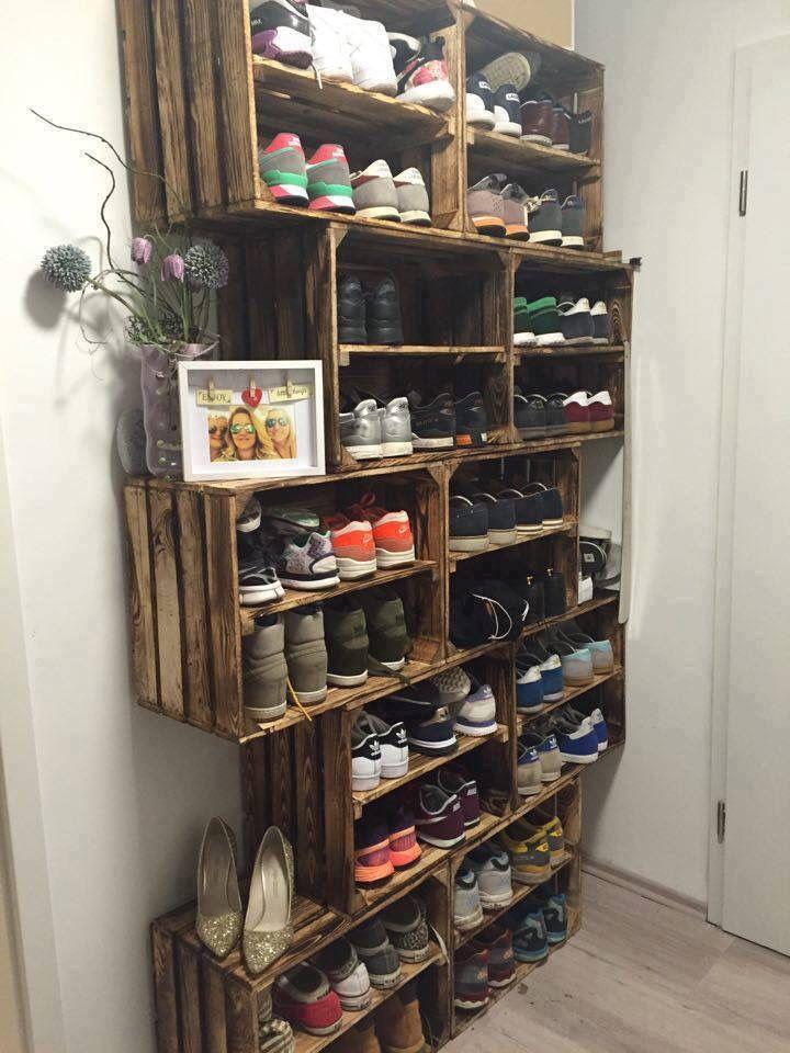 Schuhschrank ähnliche Projekte und Ideen wie im Bild vorgestellt findest du auc… – DESMONDO