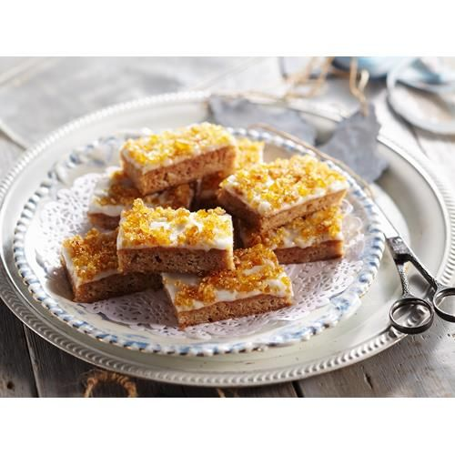 Toffee apple slice recipe - By Australian Women's Weekly, Reminisce on your childhood taste-buds with this delicious toffee apple slice- the perfect dessert or afternoon treat.