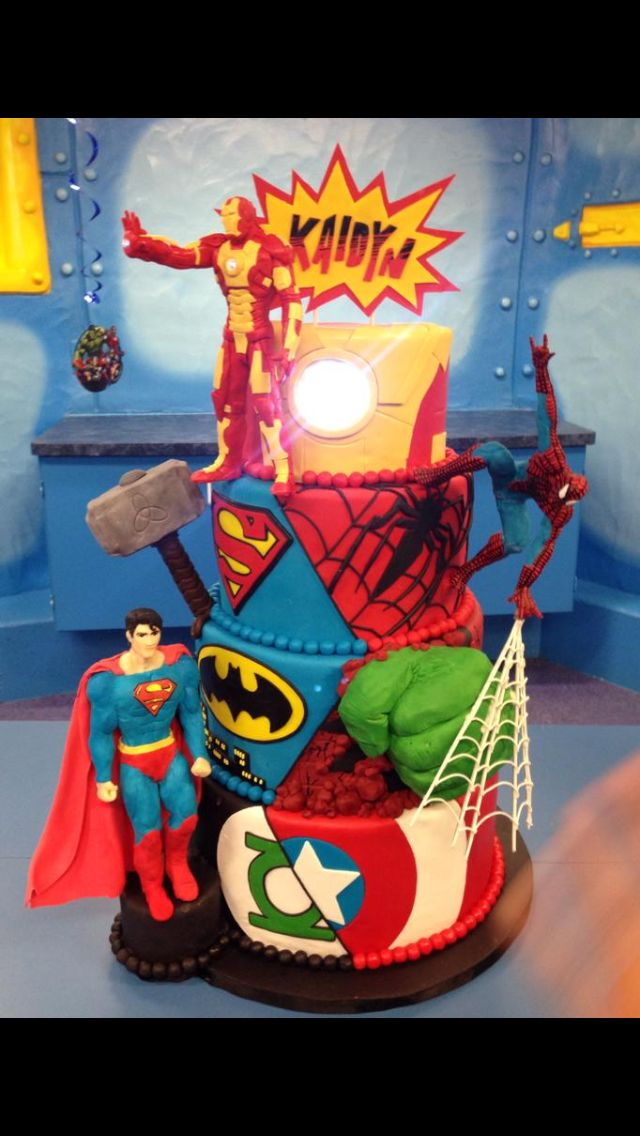 Best 25 Marvel Cake Ideas On Pinterest Marvel Birthday