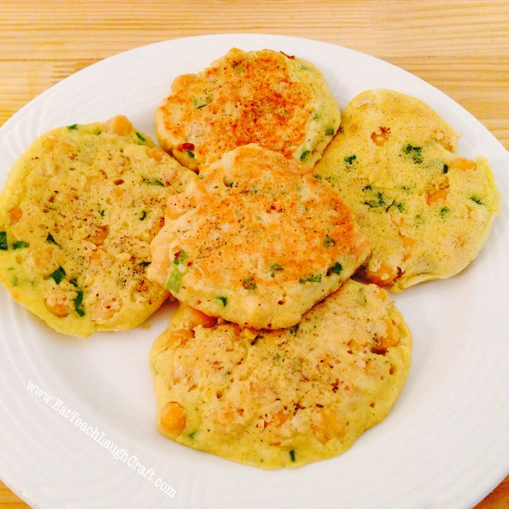 Chickpea Fritters Recipe | Slow Carb [Recipes] | Pinterest
