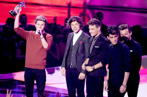 MTV VMA 2012: a consagração dos One Direction