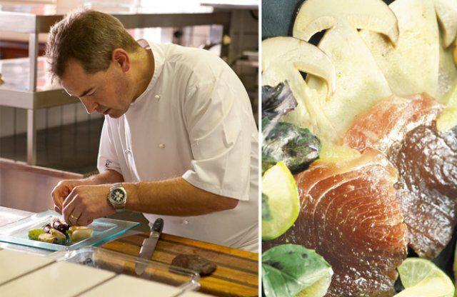 Deutscher Chefkoch, südafrikanische Zutaten: Aubergine Restaurant Kapstadt