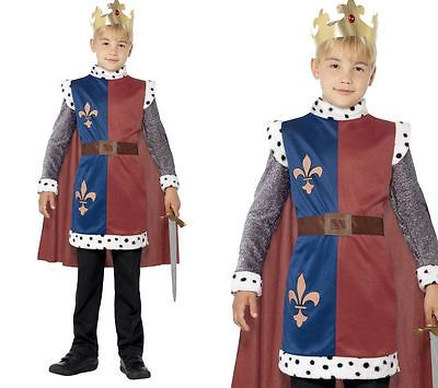 King #arthur boys medieval kings knight #fancy dress costume 4-12 #years,  View more on the LINK: http://www.zeppy.io/product/gb/2/371416356156/