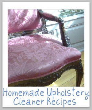 Best 25 Homemade Upholstery Cleaner Ideas On Pinterest