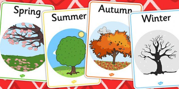 There are four different seasons which earth goes through all year ...