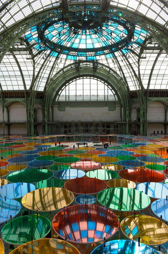 MONUMENTA 2012 - Daniel Buren at the Grand Palais