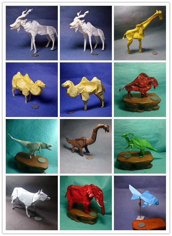 Nature Study by Origami Fan @Daniel