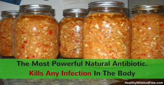 Nature has provided us it's natural antibiotic foods and plants. This recipe is mean't to be the most powerful antibiotic tonic on the planet. Have or get an infection? use this to stop it.