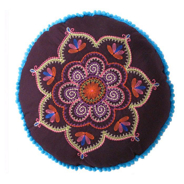 Almohad n hippie decoracion hogar hippie chic vintage for Decoracion hogar hippie