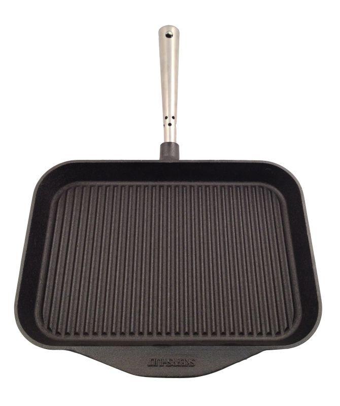 Patelnia grillowa prostokątna, stalowa rączka - SKEPPSHULT - DECO Salon #pan #grill #kitchenaccessories #cooking #frying #giftidea