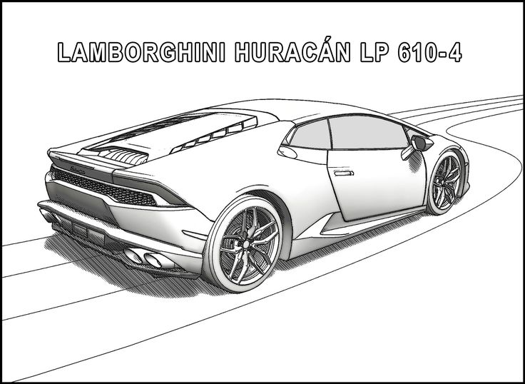 8 best Sports Cars  Lamborghini by Alexander Duval images on - best of coloring pages of a sports car