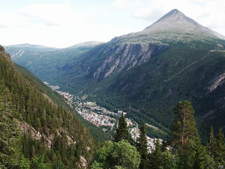 Rjukan, Norway, family 2012