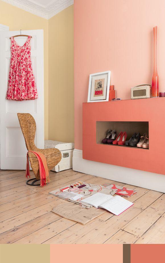 Voor het Kleurpalet van de Week kozen we voor een beeld uit het Flexa Colour Futures trendboek 2013. via kleurinspiratie.nl