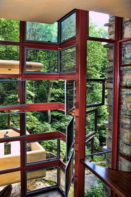 Delightful Fallingwater Is The Name Of A House Built Over An 80 Foot Waterfall By  Frank Lloyd Part 32