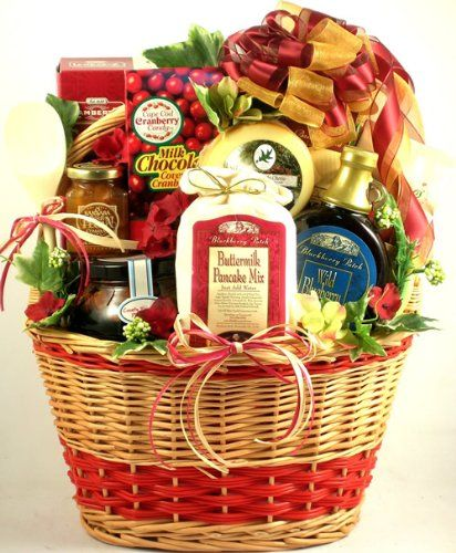 Delicious Home Country Goodness Breakfast Gift Basket $139.95 (10% OFF)