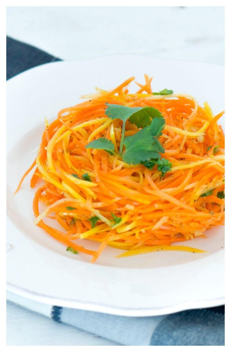 Korean carrot salad #carrot #salad #korean #russianfood
