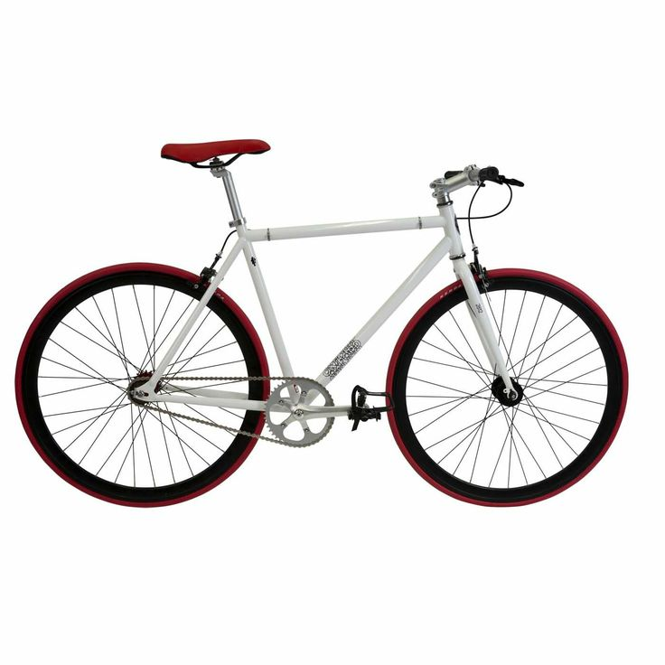28 Fixie Whte Red. Oxford.
