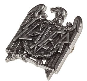 Slayer Eagle Logo Pin Badge