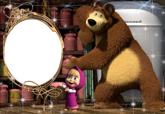 PhotoEffect da categoria: Masha e o Urso.