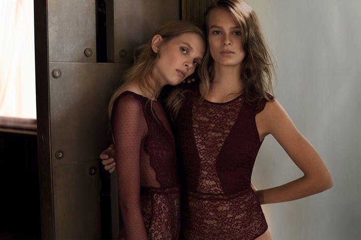 EDITORIAL - Xmas Lingerie Edit - Modowe trendy AW 2016 dla kobiet na stronie Oysho: bielizna, odzież sportowa, motywy etniczne i cygańskie, buty, dodatki, akcesoria i stroje kąpielowe.