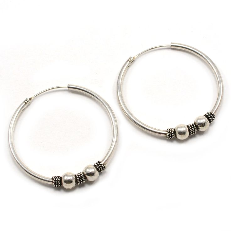 Indian Silver Hoop Earrings Uk – Best Shoes 2017