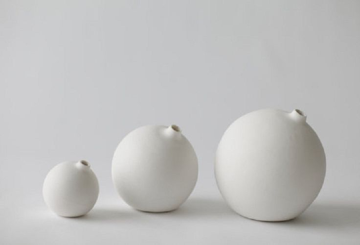 Porcelain Bud Vases made in Japan by Hajime Design from www.silkstonewood.com.au