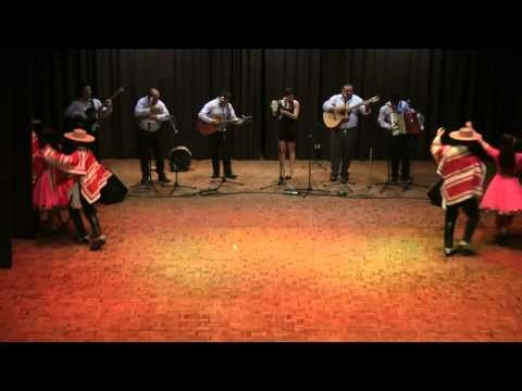 Chilean traditional folk dance: Huasos - YouTube