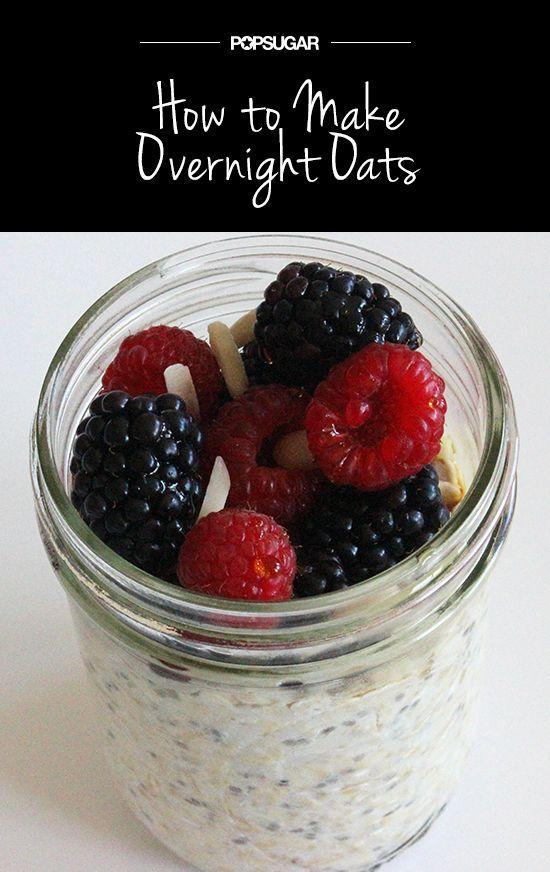 An Easy Breakfast That Beats Belly Bloat: Overnight Oats