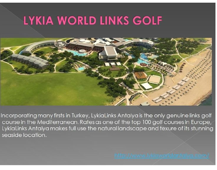 this modern hotel, Lykia World Antalya, with its private 2.5km sandy beach has a stunning architectural style and spacious grounds occupying 1,000,000 m2 of land. http://www.lykiaworldantalya.com/