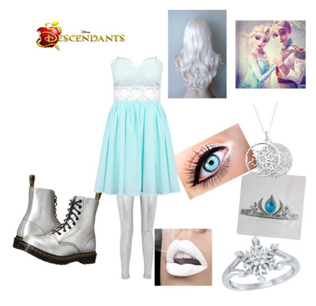 Princess Elsie Frost of Arendelle (Daughter of Queen Elsa of Arendelle and Jack Frost) by cheshirecatisback on Polyvore featuring polyvore art