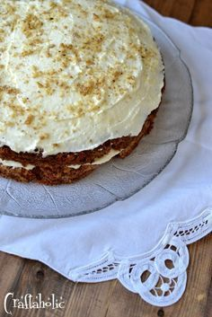 Το πιο νόστιμο κέικ καρότου και ένας διαγωνισμός - Craftaholic