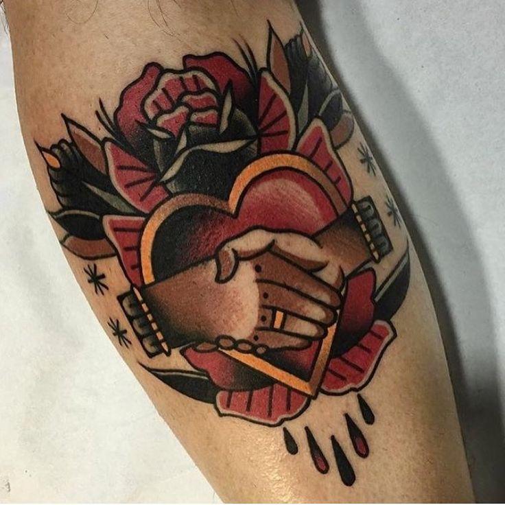 American traditional tattoos — oldlinesblog:   #tattoo by @sinalma.tattooer...