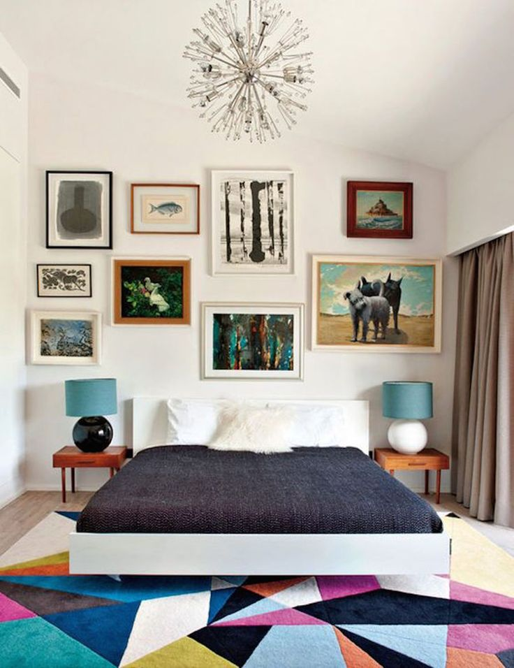10 ambientes com tapetes coloridos