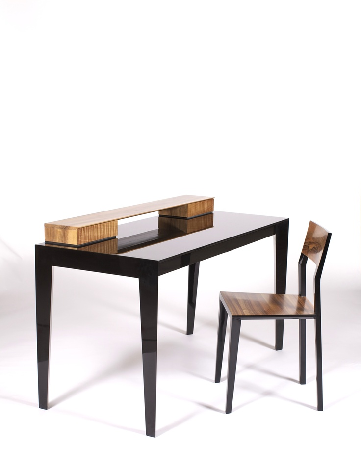 """""""Delphine"""" Desk and Chair by Neil and Annabel McCarthy . www.nest-design.com"""