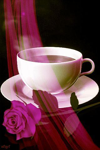 ✿§§R♥Z§§✿⊱╮#GIFS Любимый кофе