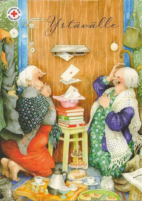 Inge Look Postcard by VeryHappyHomemaker-Angee at Postcrossing, via Flickr