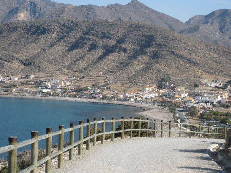 LA AZOHIA. Una de las playas más impresionantes de la costa. Cartagena. España