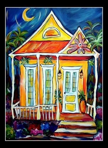 New Orleans House  Angel Turner Dyke