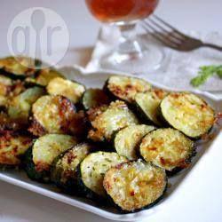 Фото рецепта: Цукини запеченные с сыром пармезан