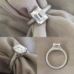 http://rubies.work/0988-emerald-pin-brooch/ 0291-sapphire-ring/ Custom Emerald Cut Engagement Ring