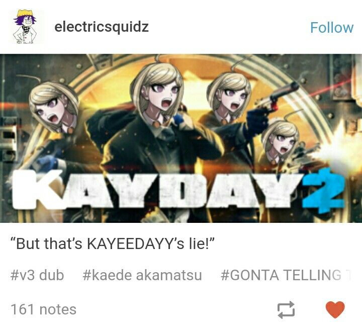 Fandom: *makes memes about Bryce voicing everyone in drv3*  Spike chunsoft: *PULLS THIS SHIT*