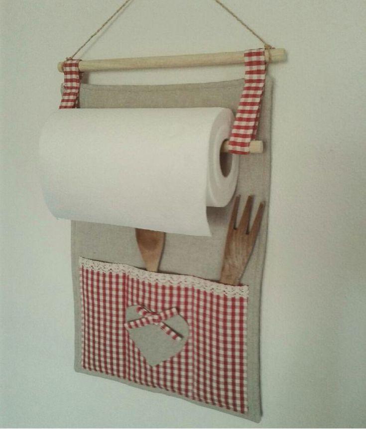 Inspiração fofa porta papel toalha